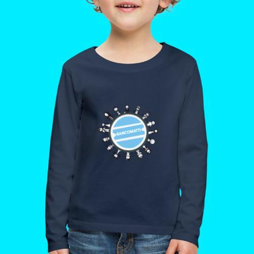 BancoFamily stick - Maglietta Premium a manica lunga per bambini