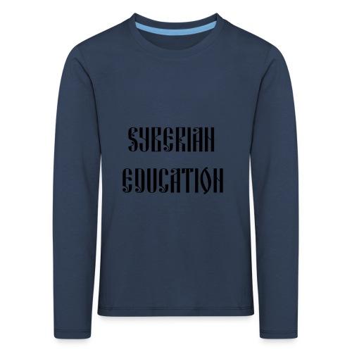 Russia Russland Syberian Education - Kids' Premium Longsleeve Shirt