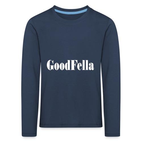 Goodfellas mafia movie film cinema Tshirt - Kids' Premium Longsleeve Shirt