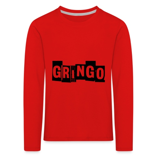 Cartel Gangster pablo gringo mexico tshirt - Kids' Premium Longsleeve Shirt