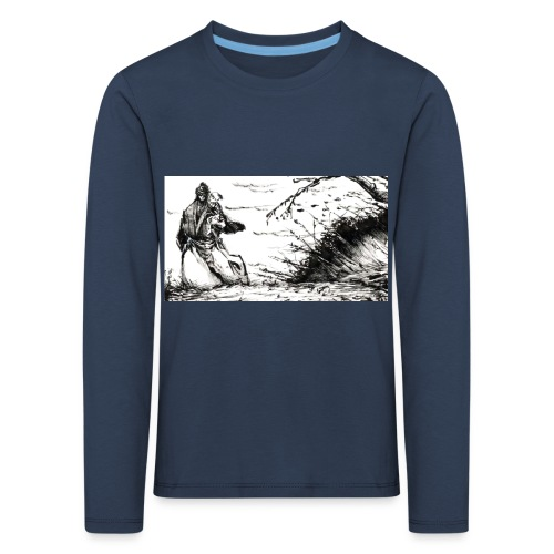 SERIOUS MAN - Maglietta Premium a manica lunga per bambini