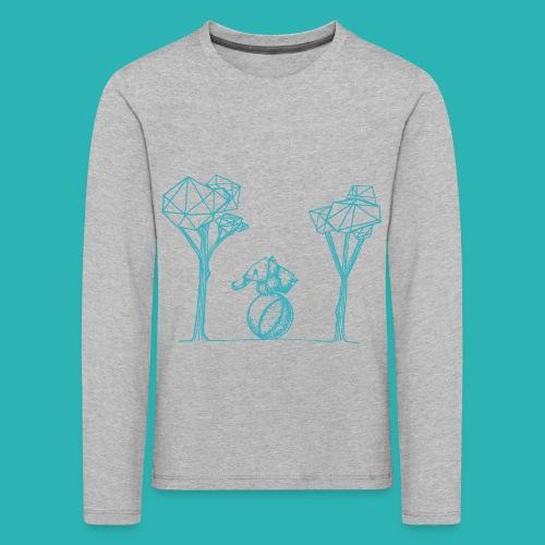 Rotolare_o_capitombolare_lightblu-png - Maglietta Premium a manica lunga per bambini