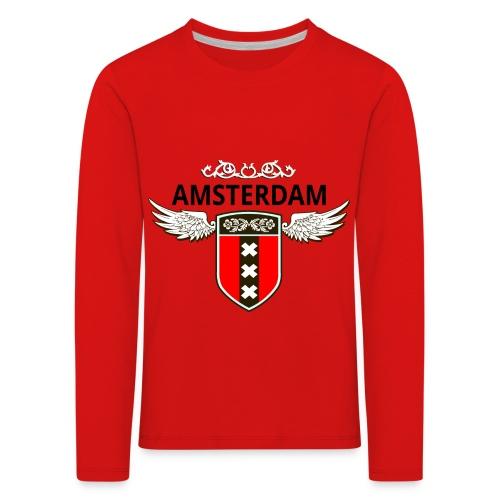 Amsterdam Netherlands - Kinder Premium Langarmshirt