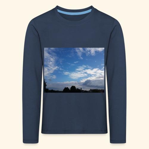 himmlisches Wolkenbild - Kinder Premium Langarmshirt