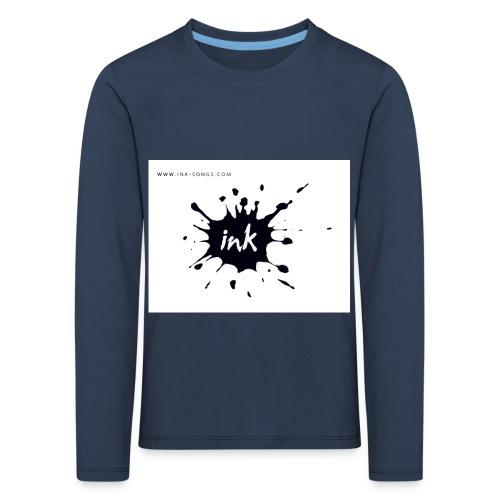 Ink Logo and website - Kids' Premium Longsleeve Shirt