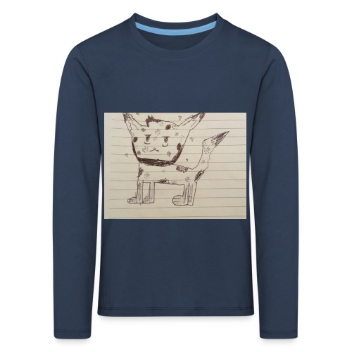 Wolf - Kids' Premium Longsleeve Shirt
