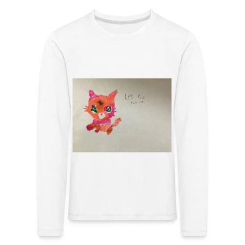 Little pet shop fox cat - Kids' Premium Longsleeve Shirt