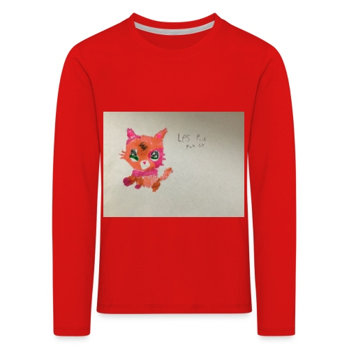 Little pet shop fox cat - Kids' Premium Longsleeve Shirt