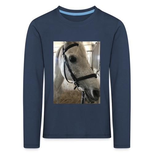 9AF36D46 95C1 4E6C 8DAC 5943A5A0879D - Premium langermet T-skjorte for barn