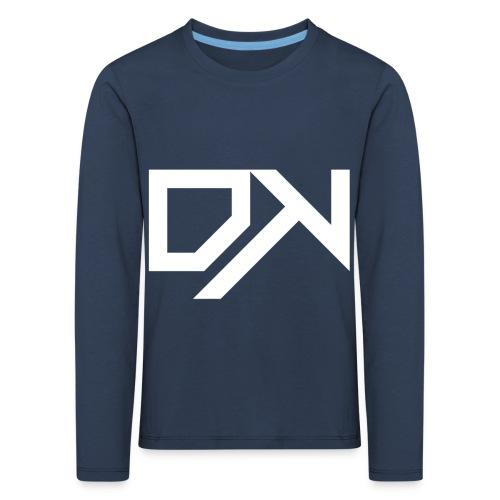 DewKee Logo Mug White - Kids' Premium Longsleeve Shirt