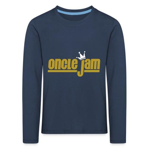 Oncle Jam horizontal or - T-shirt manches longues Premium Enfant
