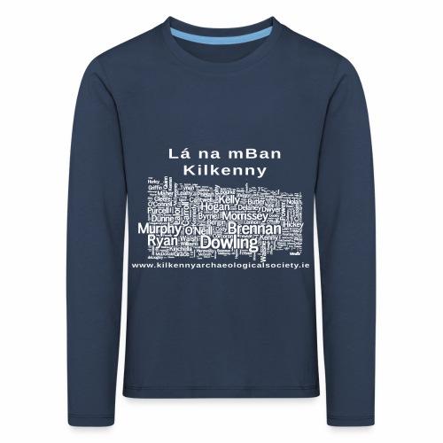 Lá na mban Kilkenny white - Kids' Premium Longsleeve Shirt