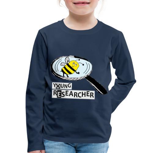 Young Researcher Bee - Kinder Premium Langarmshirt