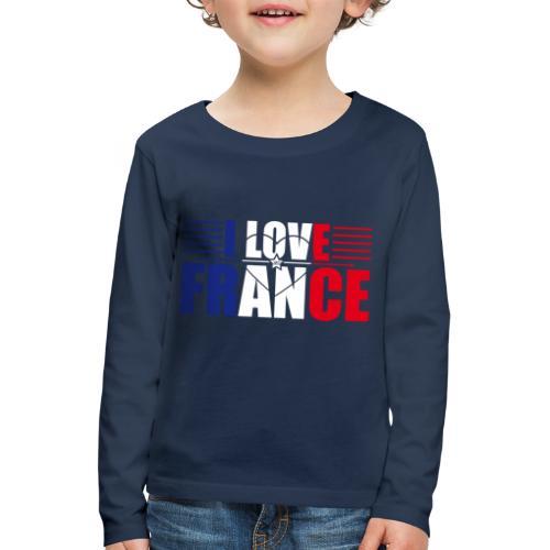 love france - T-shirt manches longues Premium Enfant