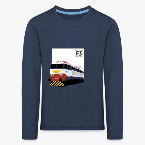 FS E 656 Caimano - Maglietta Premium a manica lunga per bambini