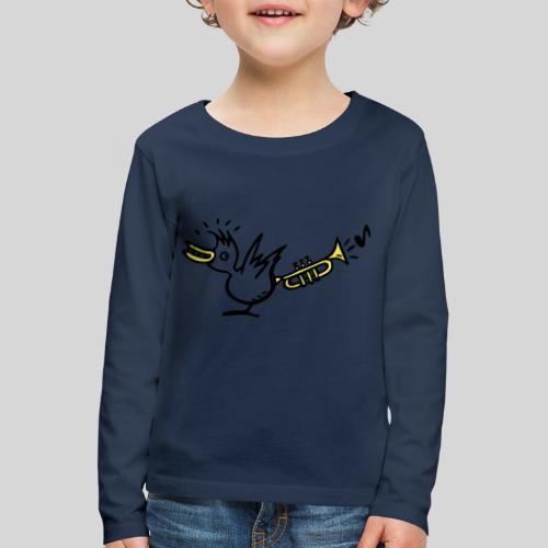 trompetenvogel - Kinder Premium Langarmshirt