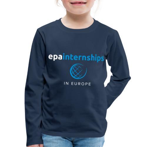 EPA Logo White - Kids' Premium Longsleeve Shirt