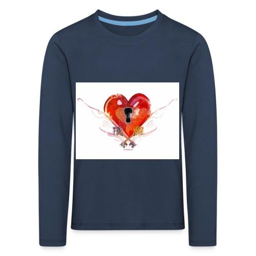 stvalentinmotif2 - T-shirt manches longues Premium Enfant
