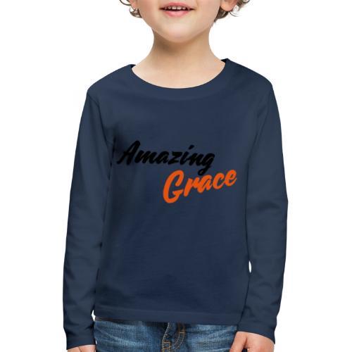 amazing grace - T-shirt manches longues Premium Enfant