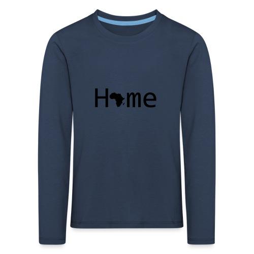 Sweet Home Africa - Kinder Premium Langarmshirt