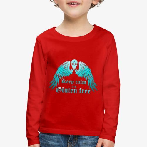 Keep calm it's Gluten free - Kids' Premium Longsleeve Shirt