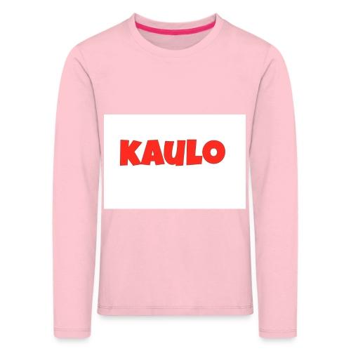 kaulo - Kinderen Premium shirt met lange mouwen