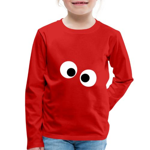 silly eyes - Kinderen Premium shirt met lange mouwen