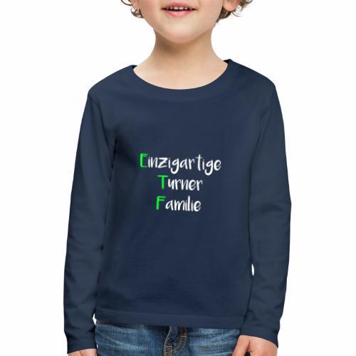 ETF - Kinder Premium Langarmshirt