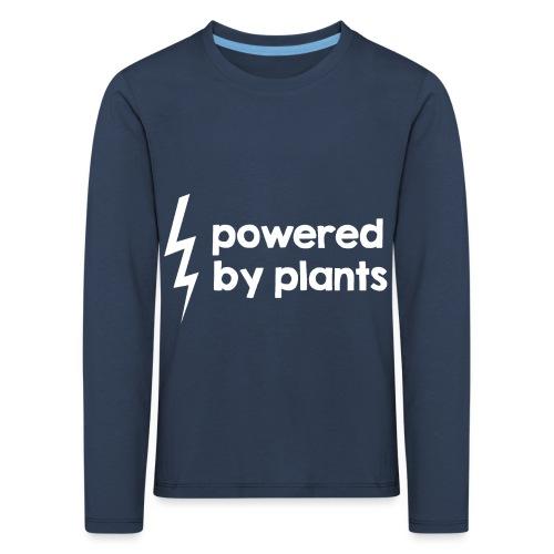 Powered by plants #2 - Kinder Premium Langarmshirt