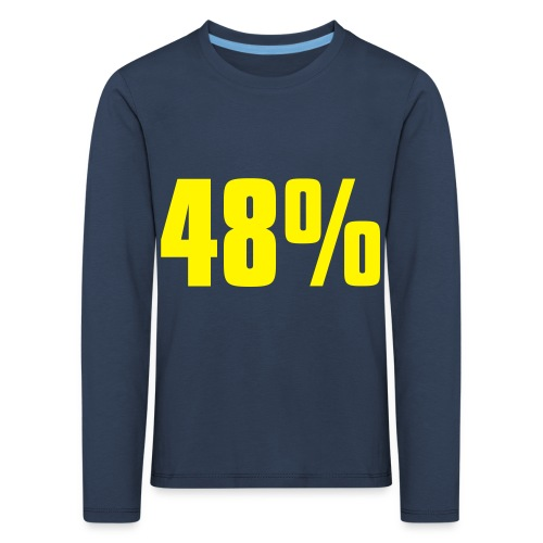 48% - Kids' Premium Longsleeve Shirt