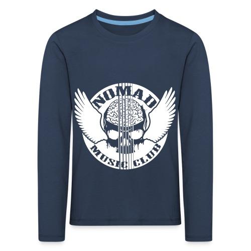 front print - Kids' Premium Longsleeve Shirt