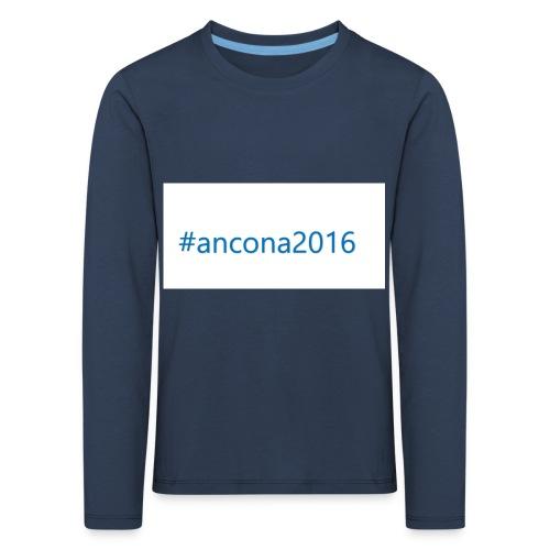 #ancona2016 - Camiseta de manga larga premium niño