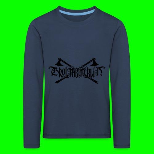 Grol Logo - Kids' Premium Longsleeve Shirt