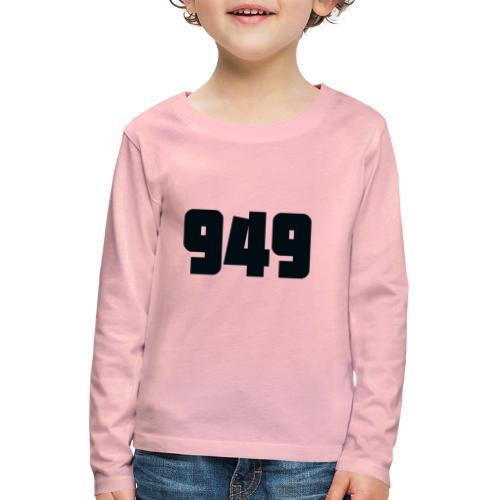 949black - Kinder Premium Langarmshirt