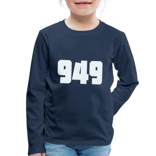949withe - Kinder Premium Langarmshirt