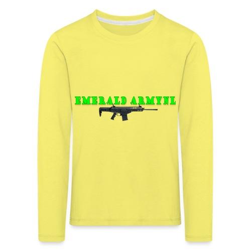 EMERALDARMYNL LETTERS! - Kinderen Premium shirt met lange mouwen