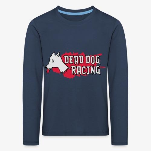 Dead dog racing logo - Kids' Premium Longsleeve Shirt