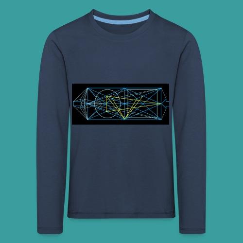 simmetria intelletuale - Maglietta Premium a manica lunga per bambini