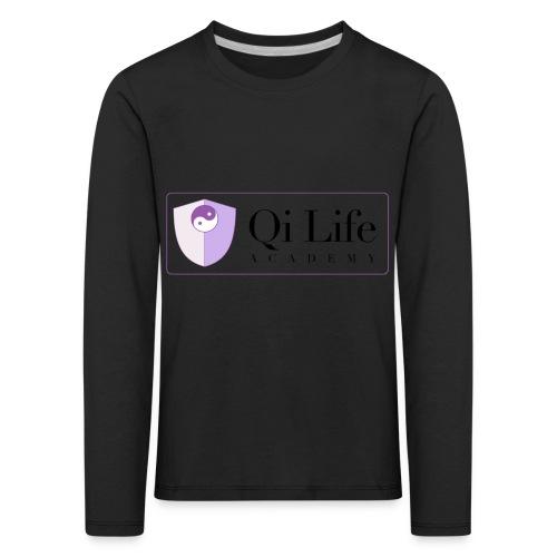 Qi Life Academy Promo Gear - Kids' Premium Longsleeve Shirt
