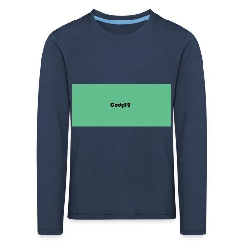 Cody52 Backpack - Kids' Premium Longsleeve Shirt