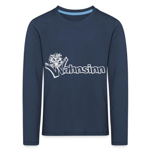 Wahnsinn Logo - Kinderen Premium shirt met lange mouwen