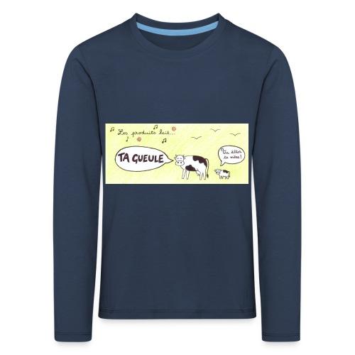 Vache pas laitière - T-shirt manches longues Premium Enfant