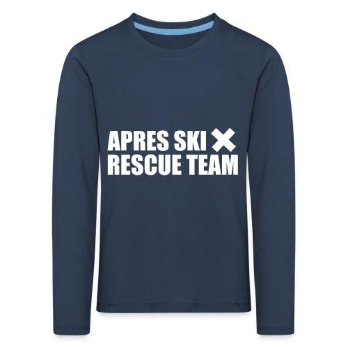 APRES SKI RESCUE TEAM 3 - Kinderen Premium shirt met lange mouwen