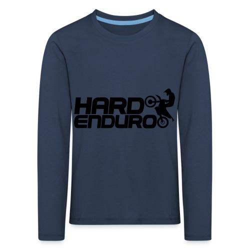 Hard Enduro Biker - Kinder Premium Langarmshirt