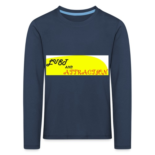 lust ans attraction - Kids' Premium Longsleeve Shirt
