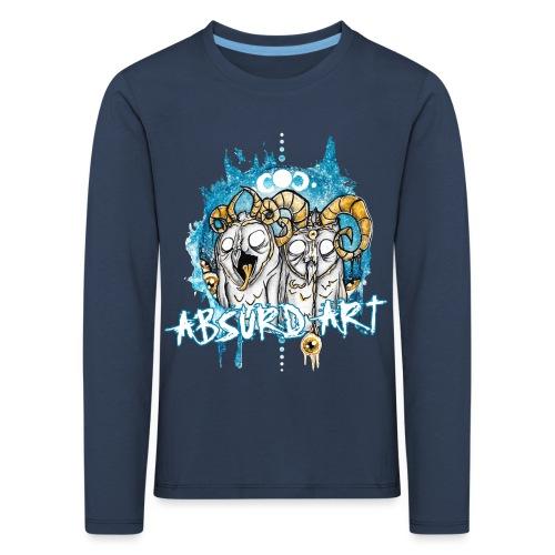 Karl & Bob von Absurd ART - Kinder Premium Langarmshirt
