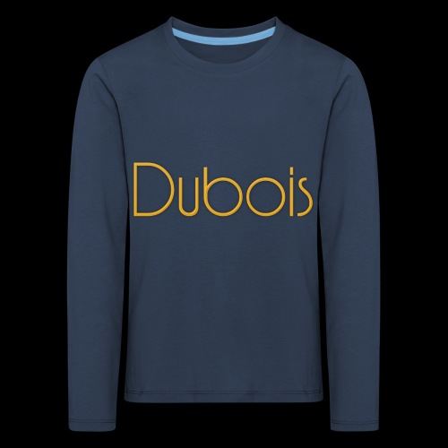 Dubois - Kinderen Premium shirt met lange mouwen