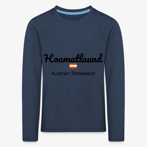 hoamatlaund austrain Streetwear - Kinder Premium Langarmshirt