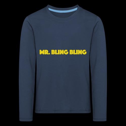 bling bling - Kinder Premium Langarmshirt