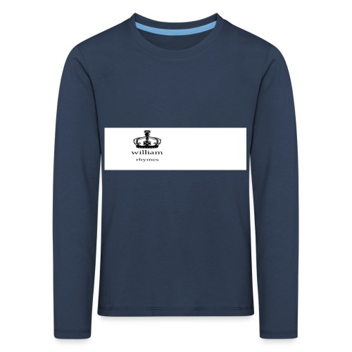 william - Kids' Premium Longsleeve Shirt